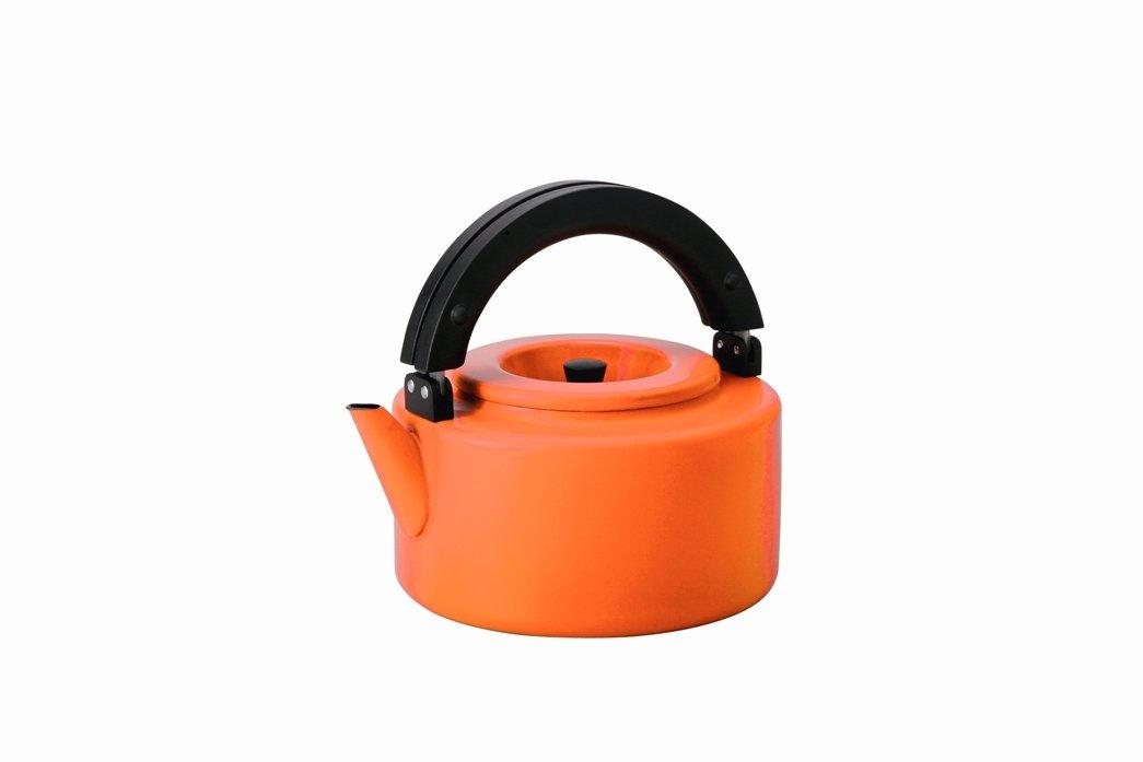 CB Japan flat kettle FK-22 Orange