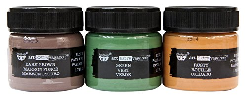 Prima Marketing Metal Set of 3 Art Extravagance - Rust Paste
