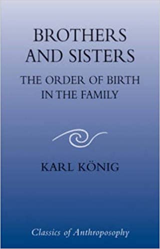 Brothers and Sisters: The Order Of Birth In The Family (Classics of Anthroposophy) by Karl Konig (2004-04-30)