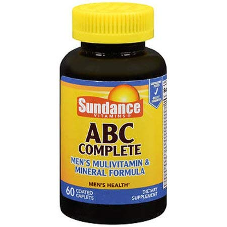 Sundance ABC Complete Men's Multivitamin & Mineral Formula Dietary Supplement, 60 Caplets (1)