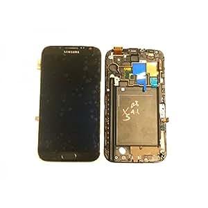 Samsung - Ecran LCD + Tactile Complet Samsung Galaxy Note II 4G N7105 Gris - 0583215026169