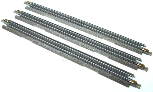 T-Gauge Model Trains 1:450 Scale Straight Track 3 Pcs