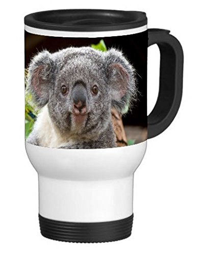 Gorilla Koala - Koala 14 ounce Stainless Travel Mug by Gorilla Cases