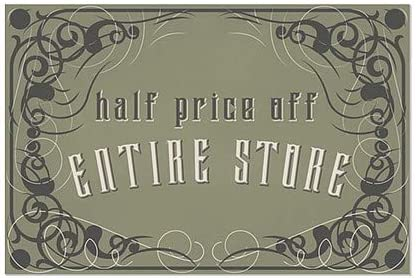 Victorian Gothic Window Cling CGSignLab 36x24 Half Price Off Entire Store