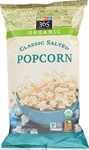 365 Everyday Value, Organic Popcorn, Classic Salted, 6 oz
