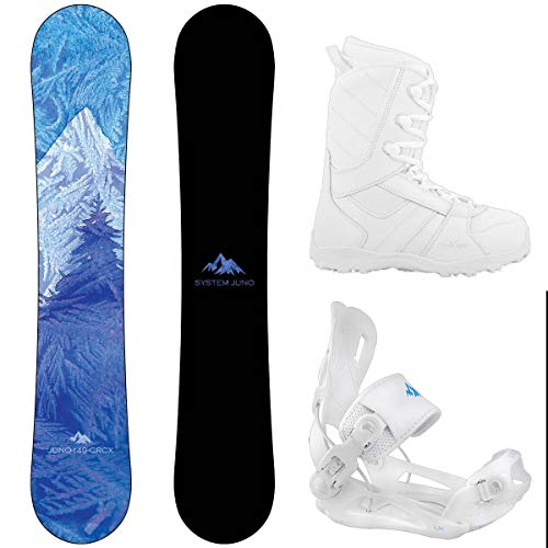 System 2021 Camp Seven Juno Women's Complete Snowboard Package