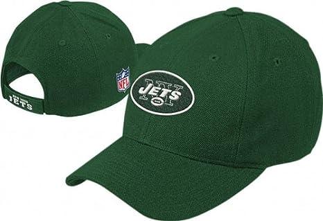 Amazon.com   Reebok New York Jets Green Basic Logo Wool Blend Hat ... c1ab67f22d5
