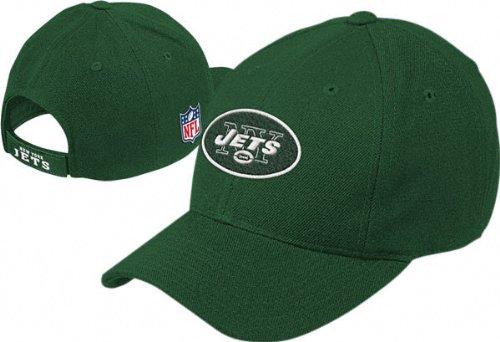 Reebok New York Jets Green Basic Logo misto lana cappello
