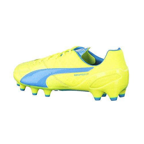 Ground Pour Firm Chaussures Football Evospeed Hommes De 4 1 Blu Puma D'entranement Fluo Lth Giallo pBXTvqw