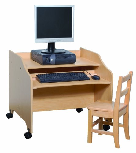Steffy Wood Products Computer Table