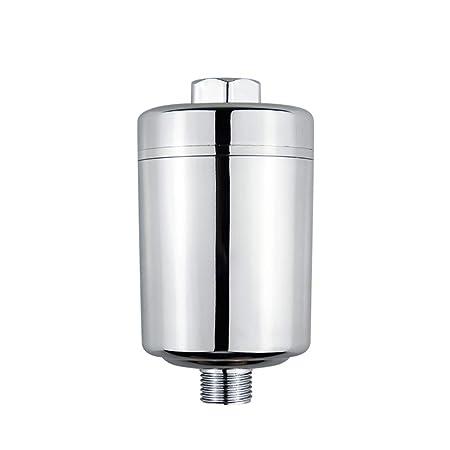 Purificador de agua de ducha, filtro de agua de baño con 8 etapas filtro de grifo de filtro grifo de agua filtro máquina eliminar cloro: Amazon.es: Hogar