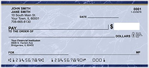 Blue Marble Personal Checks (1 Box of ()