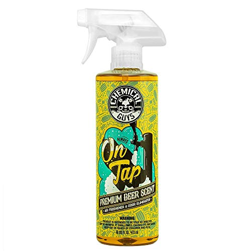 Chemical Guys AIR24516 16 oz On On Tap Beer Scented Air Freshener and Odor Eliminator, 16. Fluid_Ounces
