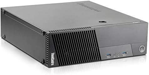 2018 Lenovo ThinkCentre M83 Small Form Business High Performance Desktop Computer PC Intel Core Pentium G3220 3.0G,8G RAM DDR3,500GB HDD,DVD-ROM,WIFI, Windows 10 Professional Renewed