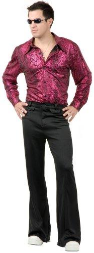 Disco Shirt Adult Costume - X-Large -