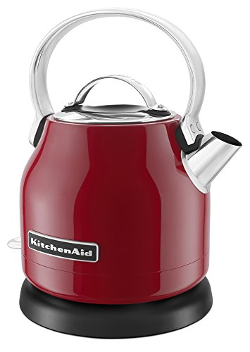Whirlpool Canada KitchenAid KEK1222ER 1.25-Liter Electric Kettle-Empire Red
