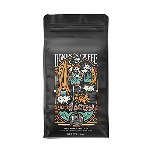Bones Coffee Company Maple Bacon Coffee (Whole Bean)