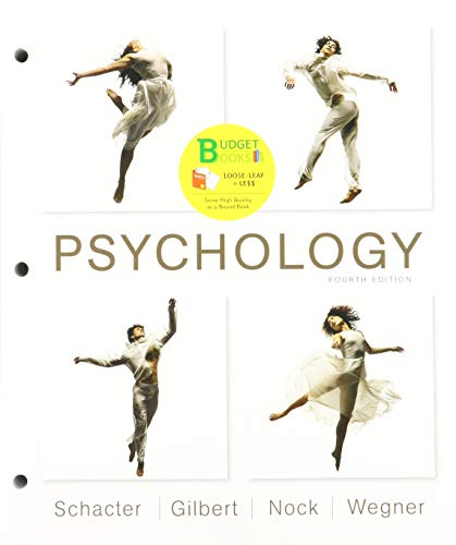 Loose-leaf Version for Psychology 4E & LaunchPad for Psychology (Six Months Access)