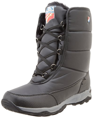 Boot Team Snow Black Women's Black Ski Khombu wxqSzICc