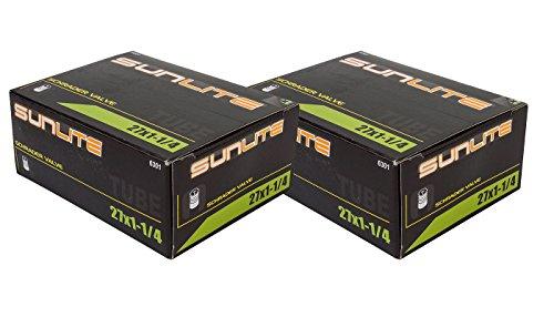 2 PACK - Tube, 27 x 1-1/4 32mm SCHRADER Valve, - Schrader Valve 32