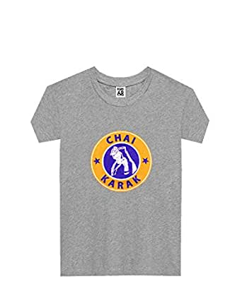 Paris68 T-Shirts For Women, Grey L