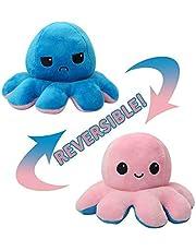 La Cosa Tiene Tela Omkeerbare octopus, origineel pluche, omkeerbaar, octopus, dubbelzijdig, glimlach en rouw, omkeerbare octopus, cadeau, pluizig, behaaglijk, behaaglijk.