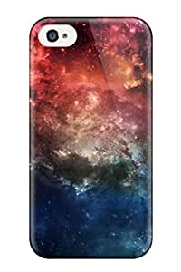 Excellent Iphone 4/4s Case Hard Cover Back Skin Protector Fantasy Space Wide