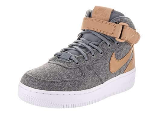 Image of NIKE AIR Force 1 '07 MID LTHR PRM Womens Fashion-Sneakers 857666