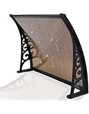 Door Canopy Awning Patio Door Awning Clear Patio Roof Cover Arch Canopy Polycarbonate Panel