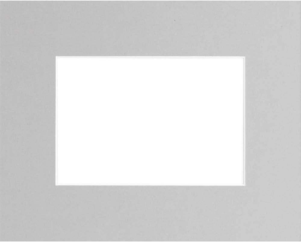 Carton Marque fran/çaise Ceanothe Passe-Partout Gris 30x45 cm Ouverture 20x30 cm
