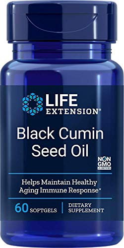 Life Extension Black Cumin Seed Oil, 60 softgels (Full Spectrum Black Cumin Seed)