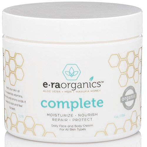 era organics face moisturizer cream 4oz advanced healing natural moisturizer with aloe vera. Black Bedroom Furniture Sets. Home Design Ideas