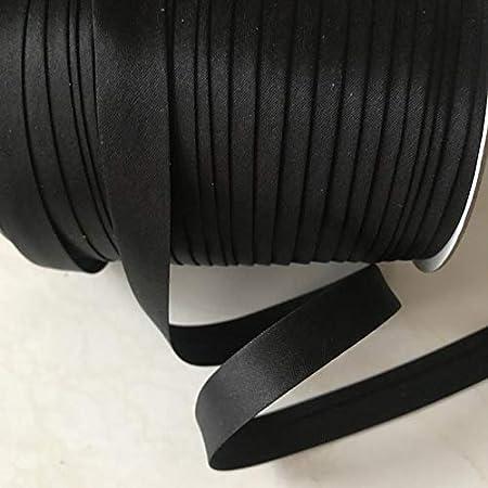 Metallic Gold 12 Yards 5//8 inch Single Fold Satin Bias Tape 23 Different Colors