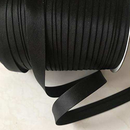 12 yards 5/8 inch Single Fold Satin Bias Tape 20 different colors In ()