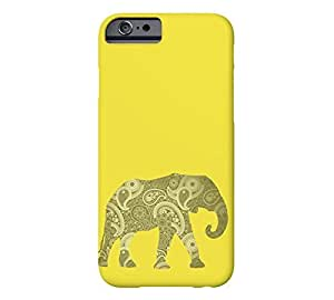 Paisley Elephant iPhone 6 Dandelion Barely There Phone Case - Design By Humans