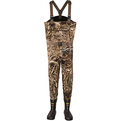Hodgman Men's Brighton Neoprene Cleated Max5 Hunting Apparel, Realtree Max, Size 12