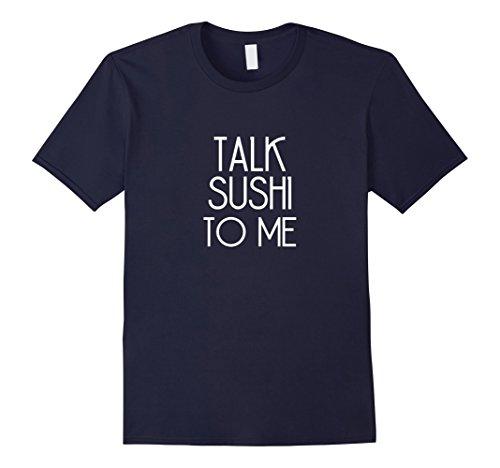 Mens Funny Sushi T Shirt - I Love Sushi Rolls Medium Navy
