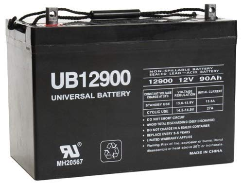 Universal Power Group 12V 90Ah John Deer Ford New Holland Kioti Melore Farm Tractor Battery (Farm Tractor Battery)