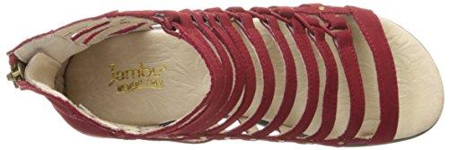 Descuento negociable Visita de envío gratis Sandalias Con Plataforma De Brookline Jambu Mujeres Profunda Sólido De Color Rojo 100% Original Envío gratis Outlet Explore hyOgC