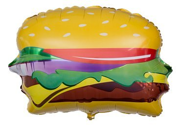 Betallic-15462-Hamburger-Shape-Foil-Flat-Balloon-28