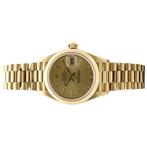 Rolex Oyster Perpetual Ladies Datejust 18K Yellow Gold 79178-Certified Pre-Owned