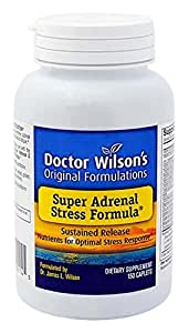 Future Formulations (Now Called Doctor Wilson's) Super Adrenal Stress Formula 150c