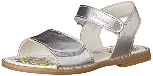 Primigi Fuji Sandal (Toddler/Little Kid), Silver, 24 EU (7-7.5 M US Toddler)