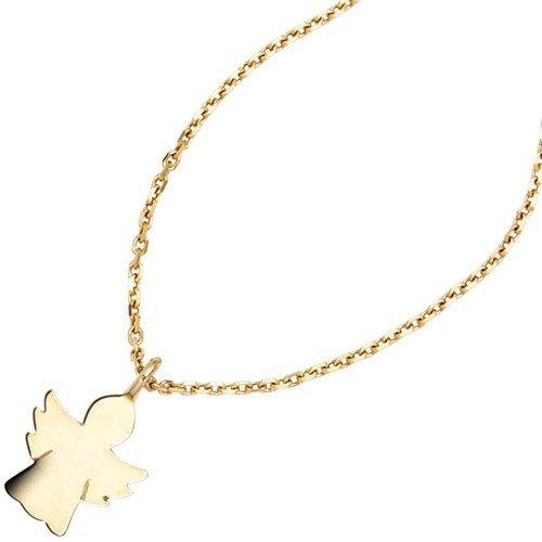 Pendentif pendentif ange gardien en or jaune 585