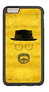 Generic Custom Picture Old Guy Clipart TPU Rubber Snap On Skin Cover Back Cell Phone Case For iPhone 6 Plus