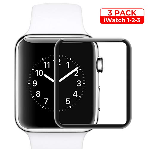 Screen Protector for Apple Watch Tempered Glass Scratch for sale  Delivered anywhere in USA