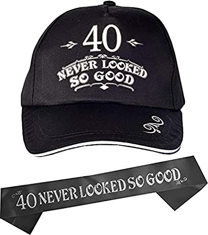 PARTY CELEBRATION 40TH BIRTHDAY AGE NOVELTY TOP HAT