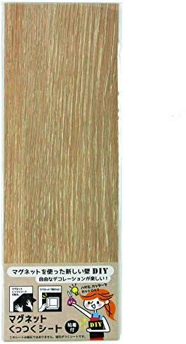 [スポンサー プロダクト]ダイドーハント 磁石が付くシート [片面 粘着] マグネットくっつくシート 10177702 ナチュラルオーク 高さ30×幅10cm