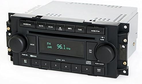 ファクトリーラジオ AM FM 6ディスクCDプレーヤー RAQパーツ P05091720AD 2004-2010ジープクライスラーダッジ対応 (認定整備済み)