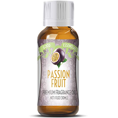 Passion Fruit Scented Oil by Good Essential (Huge 1oz Bottle - Premium Grade Fragrance Oil) - Perfect for Aromatherapy, Soaps, Candles, Slime, Lotions, and More!